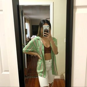 Urban Outfitters Bold Awning Stripe Shirt